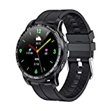 FZXL GW20 Smart Watch Bluetooth Call Smartwatch Men Sports Fitness Tracker Clima Reloj De Despertador Reloj De Recordatorio para Su Teléfono,D