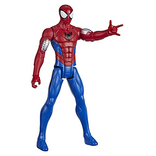 Marvel Spider-Man: Titan Hero Serie Armored Spider-Man, 30 cm große Superhelden Action-Figur