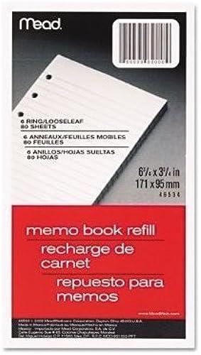 Meadwestvaco 46534  hlen 3–3 4 6–3 4 mo Book Refill von Mead