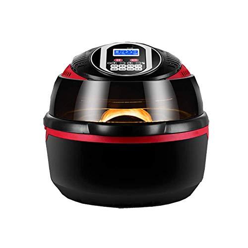10L inteligente del aire de gran capacidad Fryer, sin aceite de la freidora eléctrica Fries máquina gira automatizado, se utilicen for el aire for freír, asar y la preservación del calor, utensilios d