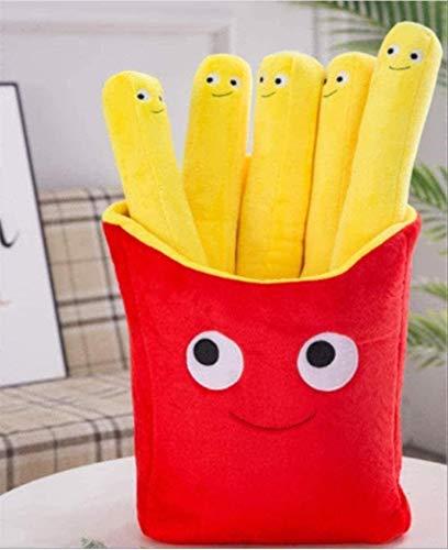 Plüschspielzeug und Chips Hold S Simulation Snack Puppen Spaß Cartoon Essen Essen gefüllt Plüschspielzeug Männer S Und Frauen S Feiertagsveranstaltung Geschenk 30 cm Weihnachtsfeier Dekoration Geschen