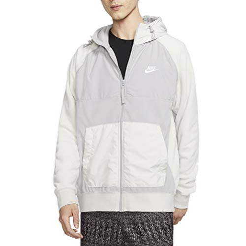Nike Sportswear Herren Softshelljacke S atmosphäre-grau/leichtes Knochen-Weiss