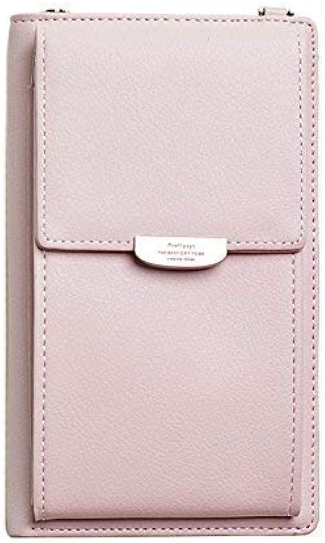 Girls Purse Summer Mobile Phone Bag Satchel Mini Hanging Neck Small Bag, greenical Zero Wallet Mobile Phone Bag (color   Pink)