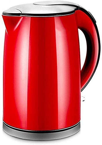 DJY-JY Hogar portátil Hervidor eléctrico, 1.5L de Acero Inoxidable de Agua en ebullición Pot, 1500W Anti-Escaldado Calentador de Agua rápido, con Ajuste automático de Apagado, Libre de BPA
