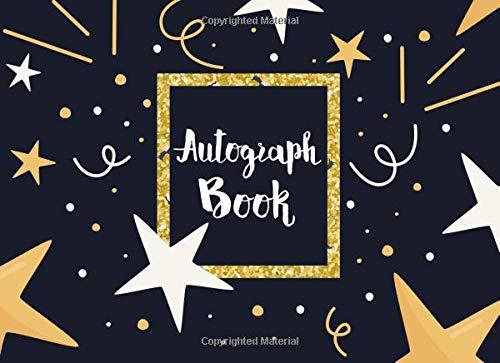 Autograph Book: Keepsake Memory Book, Blank Unlined Keepsake, Scrapbook,Memorabilia Album Gift, Favorite Sports Stars, Disney Cartoon Characters, ... Volume 2 (Autograph Book for Adults & Kids)