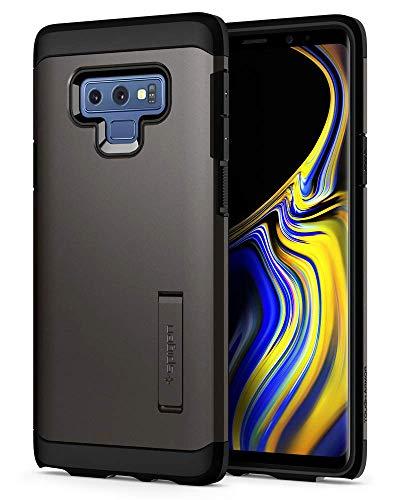 Spigen [Tough Armor Kompatibel mit Samsung Galaxy Note 9 Hülle (599CS24576) Doppelte Schutzschicht für Extrem Fallschutz Schutzhülle Case Gunmetal