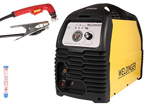 WELDINGER Plasmaschneider PS 56 air pilot pro mit Pilotlichtbogen und integriertem Kompressor 5 Jahre Garantie