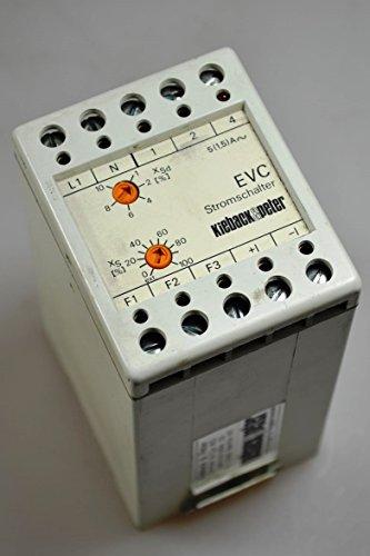 Kieback+Peter EVC, Stromschalter / power switch