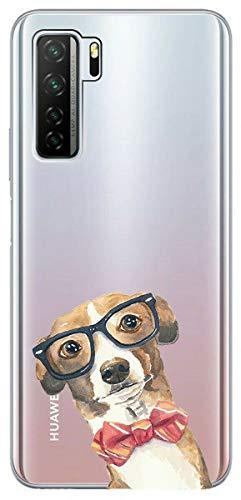 Mixroom U1063 Schutzhülle für Huawei P40 Lite 5G, aus weichem TPU, mit durchsichtigem Hintergr&
