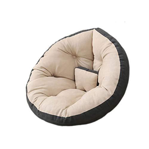 JJZXD Erwachsener und Kind Bohnenbeutel-Stuhl, mit aufblasbarem multifunktionalem faulem Sofa, Faltbarer Spielmatte, Bohnenbeutelbett, Liegesetz (Size : Small)