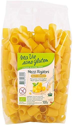 Ma Vie Sans Multigrain Mezzi Rigatoni - 500g
