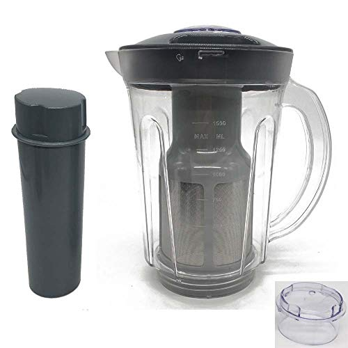 Joystar 48oz Larger cup replacement parts soymilk picther attachement &Juicer Attachment,compatible with Nutri Bullet Original 600series &Pro 900 series (1x Picther)