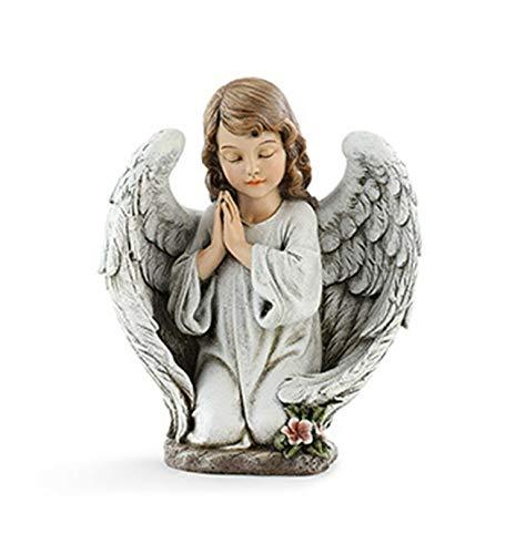Napco Kneeling Angel Girl Praying Garden Statue