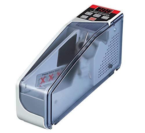 マネーカウンター  ポータブルお札カウンタ  高速でカウント 簡単計数 ハンディタイプ 持ち運び可能  紙幣カウンター V40