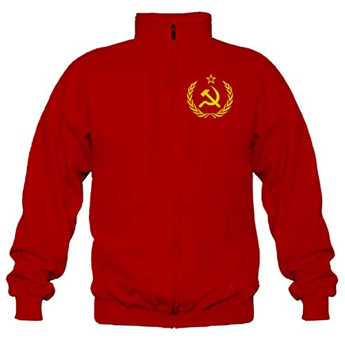 P-T-D CCCP UDSSR Sowjetunion Stehkragenjacke (L)
