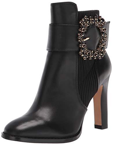 Karl Lagerfeld Paris Damen Vania modischer Stiefel, schwarz, 36.5 EU