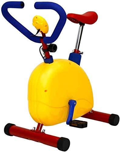 Fitness Trainingsgerät für Kinder Community Public Heimtrainer Hof Spielgeräte Höhenverstellbar Sport Training Fahrrad für Kinder von 3-8 Jahren