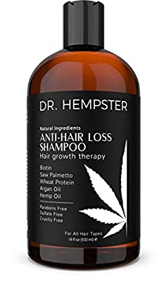 Hair Loss and Biotin Shampoo - Thickens & Enriches Thinning Hair for Men & Women - Potent Natural Organic Ingredients - No Parabens or Sulphates - Vegan, All Hair Types 18 fl Oz (Shampoo)
