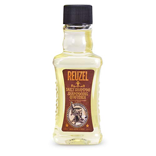 Reuzel - Daily Shampoo - Reinigt das Haar und die Kopfhaut, ohne sie auszutrocknen - verleiht Glanz - feuchtigkeitsspendend - stärkend - entfettend - für alle Haartypen - tägliche Anwendung - 3.38 oz/100 ml