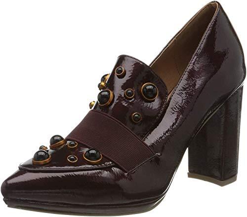 El Caballo Dos Hermanas, Zapato de tacón Mujer, Burdeos, 41 EU