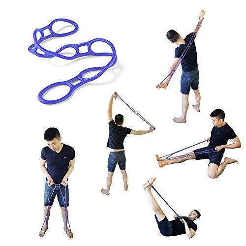 Angelaid - Bandas de resistencia para ejercicios de fitness, goma elástica, multifunción, para yoga, pilates, hogar, gimnasio, entrenamiento, etc.