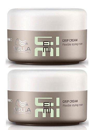 Wella Professionals Eimi Grip Cream Styling Hair Gel DUO Pack 2 x 75ml by Wella Eimi