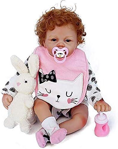 HOOMAI Reborn Babys mädchen silikon 5cm lebensecht Puppe Baby doll Girl Schnuller Magnet Spielzeug