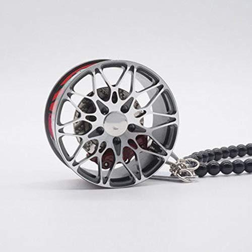 ZYGJ Auto Anhänger hängen Schlüsselanhänger Reifen Dekoration Radnabe hängen Ornamente Auto Interior Rückspiegel Autozubehör Geschenke,A4