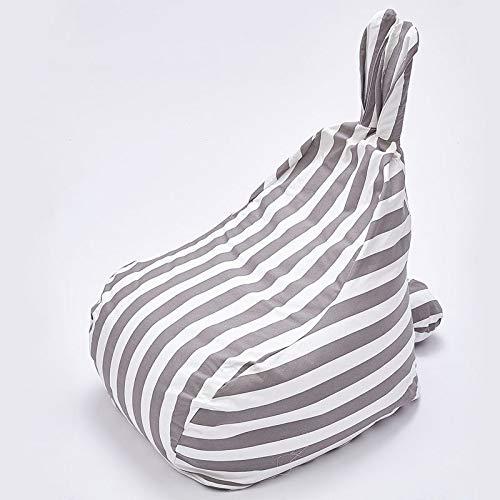 Kinderfauteuil, zitkussen infantil Bean Bag voor kinderbanken met zitting van Mobili for la Casa Living Room Sofas pigro stoel streep