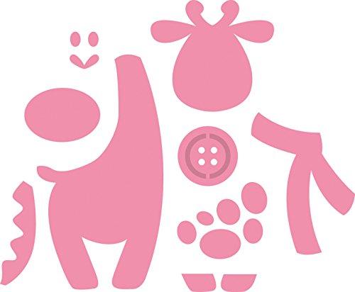 Marianne Design Fustella Collectables Eline's Giraffa, Metal, Pink, 3.8x7.1x0.4 cm