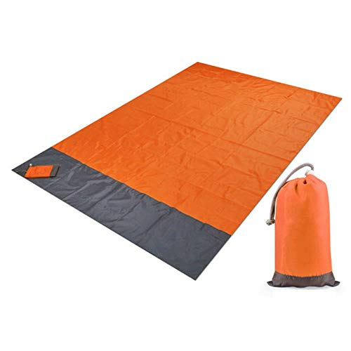 Colchoneta de camping para picnic portátil, manta de playa, impermeable, para camping, playa, esterilla de picnic al aire libre, tienda de campaña, equipo de camping