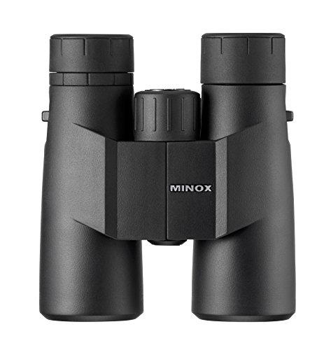 MINOX BF 8x42 Fernglas – Vollwertiges Universalfernglas mit kontrastreicher Detailwiedergabe für die Beobachtung bis in die Dämmerung – Inkl. Nylon-Trageriemen & Bereitschaftstasche