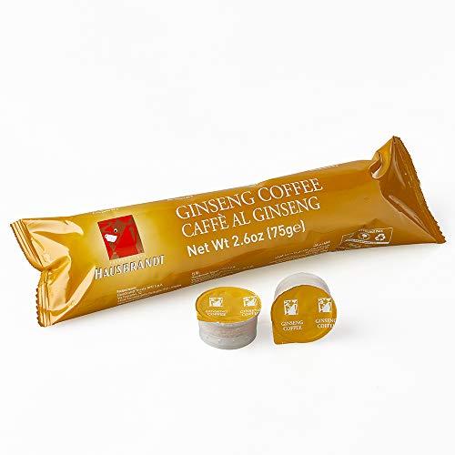 50 Capsule Hausbrandt Caffè Ginseng preparato solubile confezionato in capsule monodose