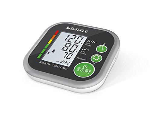 Soehnle Systo Monitor bloeddrukmeter 200 12,8 x 8,1 x 17,2cm zwart-wit
