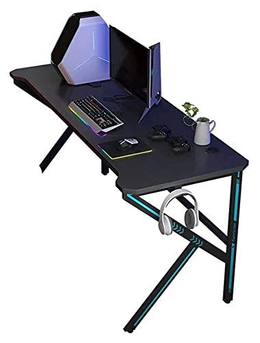 39 inches Gaming Desk Computer Gamer Desk Large Computer Desk Workstation Office PC Desk, Easy Installation LingGe