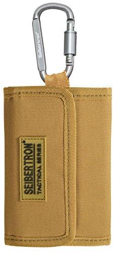 Seibertron Geldbeutel, Geldtasche, Geldbörse Portemonnaie mit RFID Schutz, Khaki