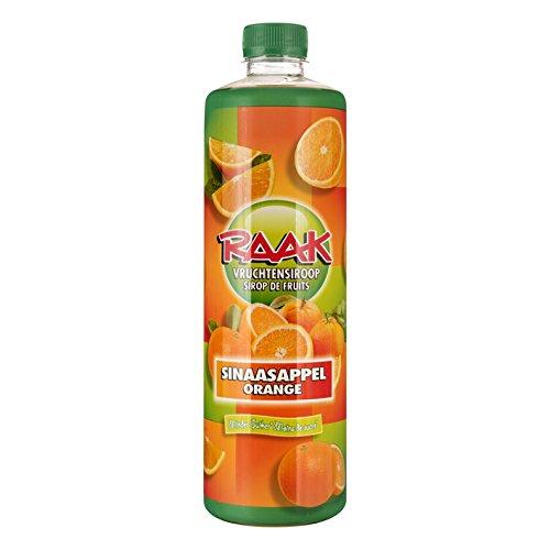 Raak vruchtensiroop sinaasappel- Getränke-Sirup Orange (6 x 0,75L)