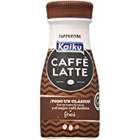 Kaiku Café UHT Cappuccino - Paquete de 6 x 200 gr - Total: 1200 gr