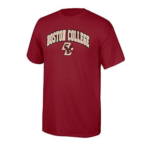 Elite Fan Shop Boston College Eagles Men's T Shirt Team Color Arch, Large