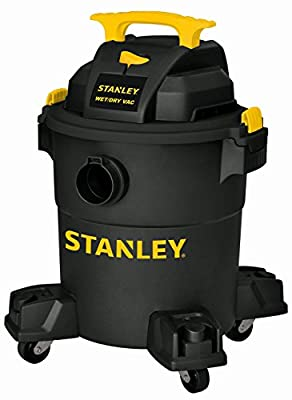 Stanley Wet/Dry Vacuum, 6 Gallon, 4 Horsepower (Renewed)