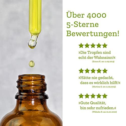 BitterLiebe® Bitterstoffe Tropfen 50ml mit praktischem Pipettenverschluss - 4