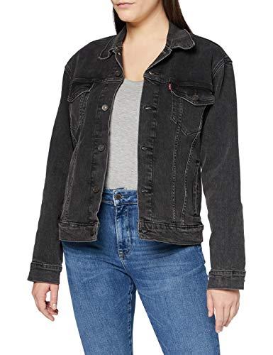 Levi\'s Womens The Jacket, Raider Trucker, M
