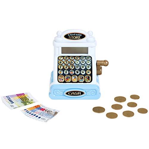 Theo Klein-Caja Vintage con dinero de juguete (9381)