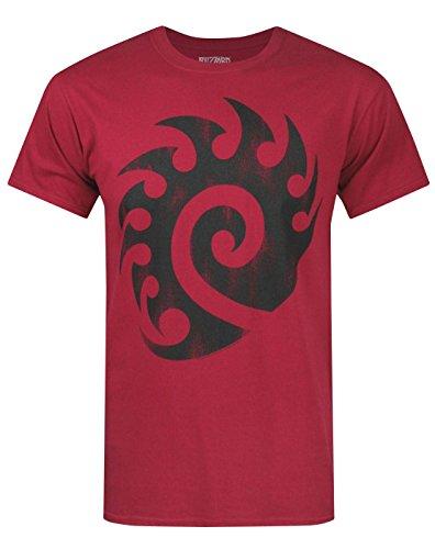 Herren - Official - Starcraft - T-Shirt (S)