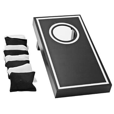 Natico Originals Office or Home Executive Mini Toss Corn Hole Game (60-G072),Black