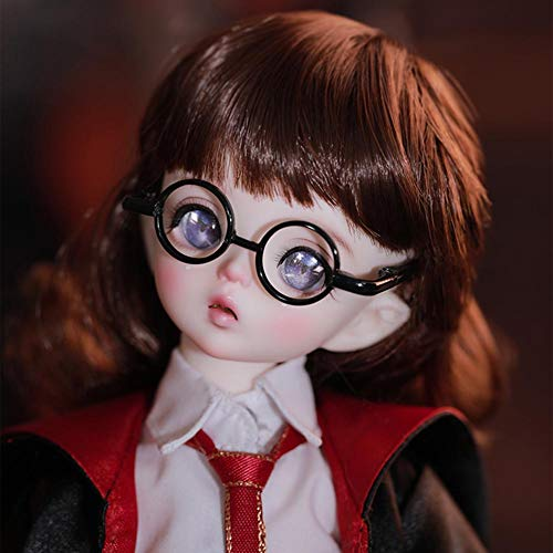Y&D 1/6 BJD Doll 10.62 Inch Ball Jointed Dolls Figure + Full Set Accessories + Shoes + Hair + Clothes + Gafas