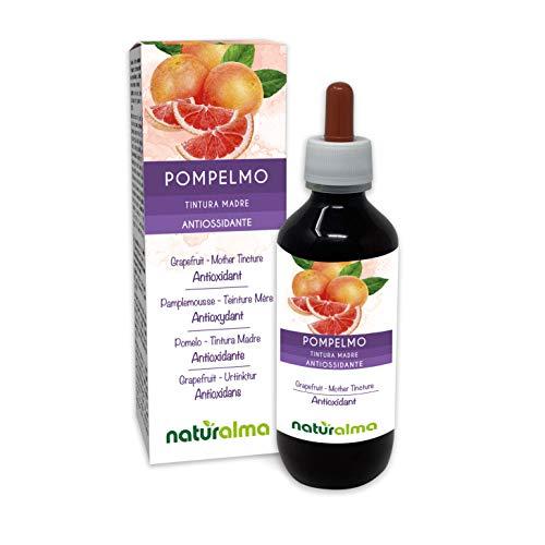 Pomelo (Citrus paradisi) semillas Tintura Madre sin alcohol Naturalma   Rico en vitamina C   Extracto líquido gotas 200 ml   Complemento alimenticio   Vegano