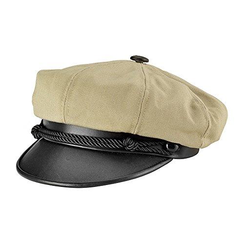 Village Hats Casquette Brando en Toile Khaki New York Hat CO. - Medium