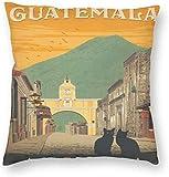 BONRI World Vintagetravel Poster Guatemala Antigua
