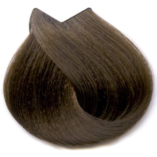 Tahe Organic Care Dauerhafter Farbstoff Haar-Farbe, Nein.7.23 Medium Golden Pearl Gold, 100 ml